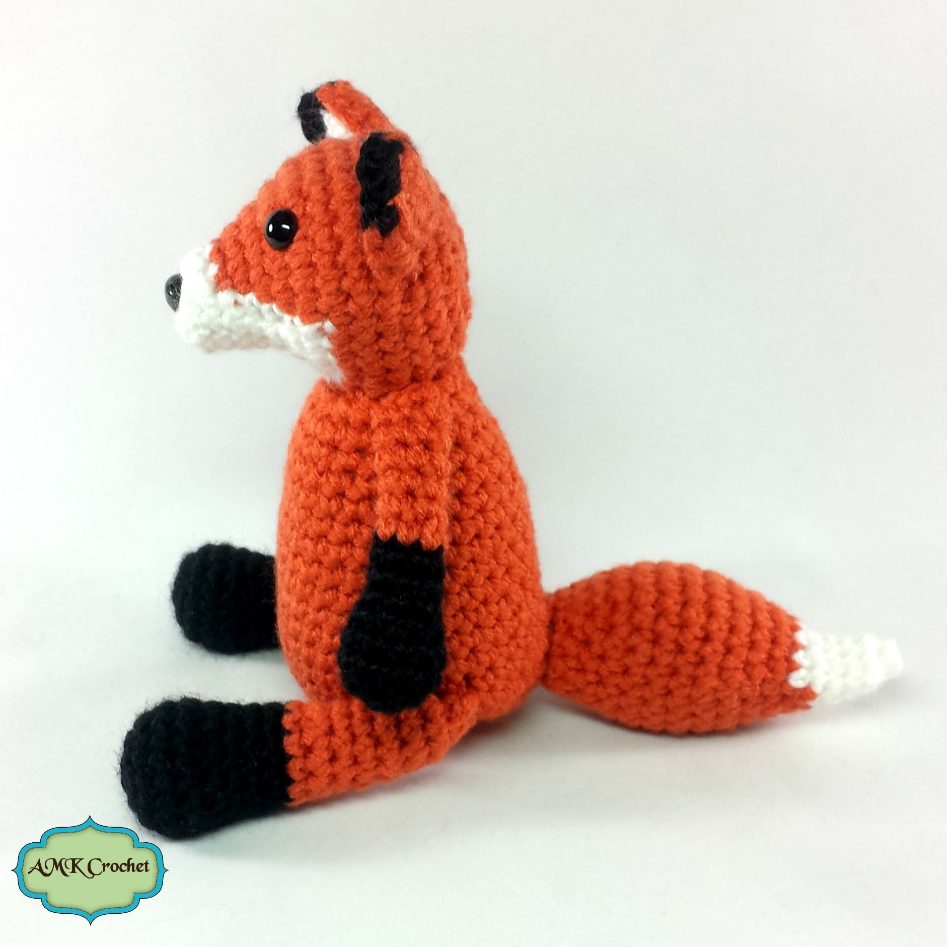 Crochet Newborn Fox Hat with Matching Amigurumi Fox Plush ...