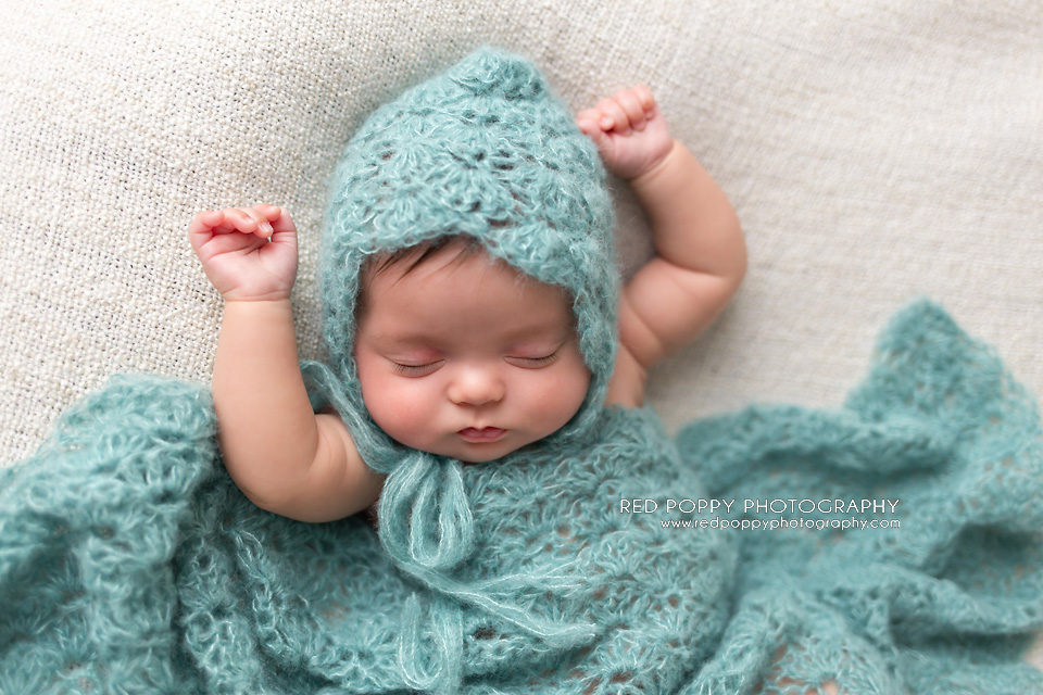 Free Newborn Wrap Crochet Pattern : Newborn Lace Bonnet Hat and Wrap Photo Prop AMK Crochet
