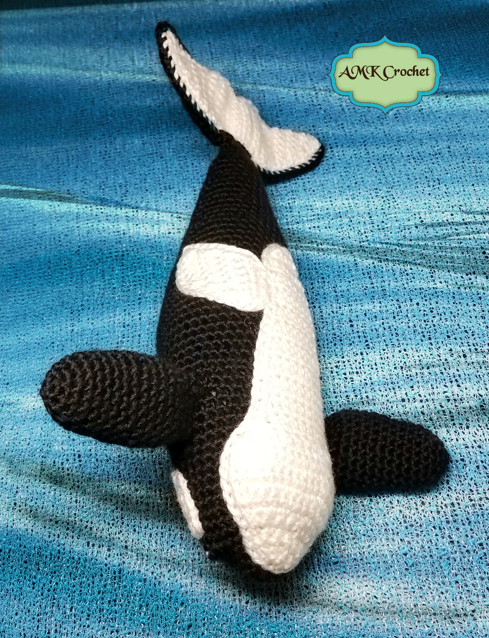 Crochet Orca Killer Whale Plush Toy Pattern Amk Crochet